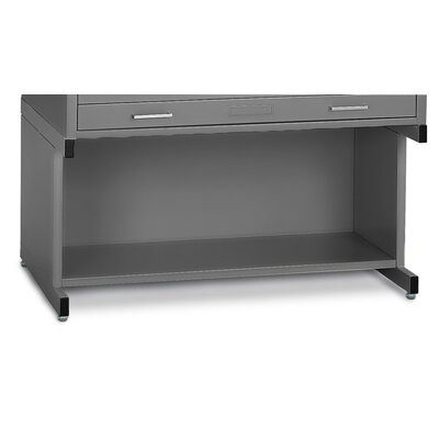 C-Files High Base Finish: Gray, Size: 20 H x 53.75 W x 41.38 D
