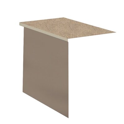 29 H x 42 W Desk Bridge Base Finish: Desert Sage, Top Finish: Classic Rock / Taupe