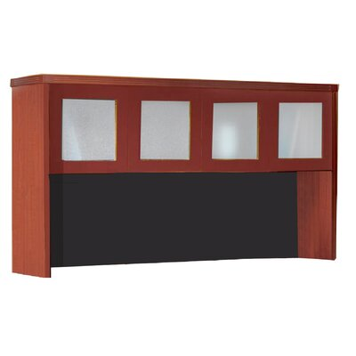 Aberdeen 39.13 H x 72 W Desk Hutch Finish: Cherry
