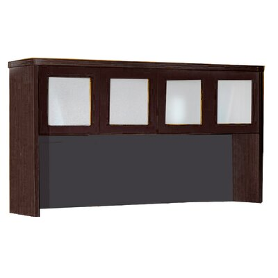Aberdeen 39.13 H x 72 W Desk Hutch Finish: Mocha
