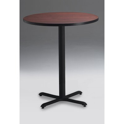 Bistro Bar Height Pub Table Tabletop Size: 30 W x 30 D, Finish: Regal Mahogany