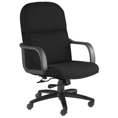 Mid-Back Executive Office Chair Color: Black Product Photo 3363