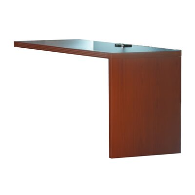 Aberdeen 29.5 H Right Desk Return Finish: Cherry, Size: 29.5 H x 48 W x 24 D