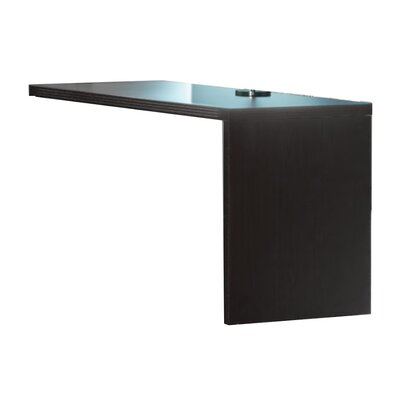 Aberdeen 29.5 H Right Desk Return Finish: Mocha, Size: 29.5 H x 48 W x 24 D
