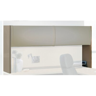 38 H x 72 W Desk Hutch Finish: Desert Sage / Taupe Product Image 1029