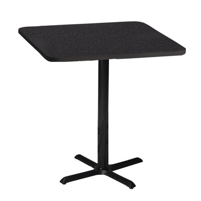 Bistro Pub Table Finish: Anthricite, Tabletop Size: 36 W x 36 D