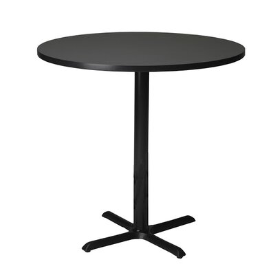 Bistro Bar Height Pub Table Finish: Anthricite, Tabletop Size: 42 W x 42 D