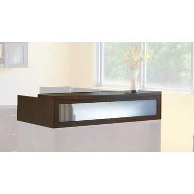 Aberdeen 15.63 H x 72 W Desk Hutch Finish: Mocha