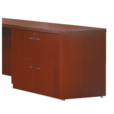 Aberdeen 27.5 H Desk File Pedestal Finish: Cherry, Size: 27.5 H x 36 W x 20D