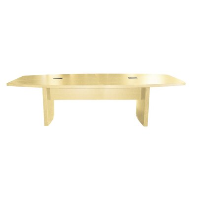 Gilberton Boat Shaped Conference Table Finish: Maple, Size: 6 L