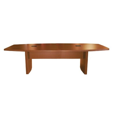 Gilberton Boat Shaped Conference Table Finish: Cherry, Size: 8 L