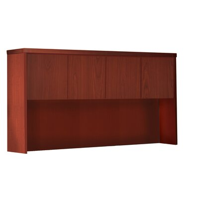 Aberdeen 39.13 H Desk Hutch Finish: Cherry, Size: 39.13 H x 66 W x 15 D