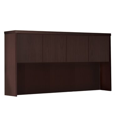 Aberdeen 39.13 H Desk Hutch Finish: Mocha, Size: 39.13 H x 72 W x 15 D