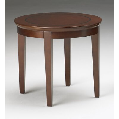 Sorrento Series End Table Color: Bourbon Cherry