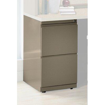 28 H x 15 W Desk File Pedestal Finish: Desert Sage, Size: 28 H x 15 W x 17.5 D