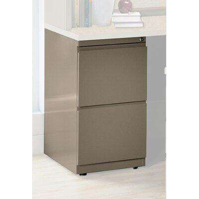 28 H x 15 W Desk File Pedestal Finish: Desert Sage, Size: 28 H x 15 W x 30 D