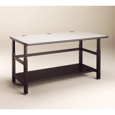 IT Furniture Height Adjustable Training Table Size: 60 W x 36 D
