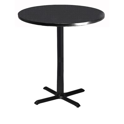 """Mayline Bistro Bar Height Pub Table - Finish: Ice Gray, Size: 30"""" W x 30"""" D"""