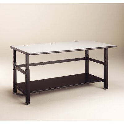 IT Furniture Height Adjustable Training Table Size: 72 W x 36 D