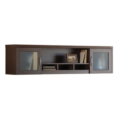 Aberdeen 19.125 H x 72 W Desk Hutch Finish: Cherry