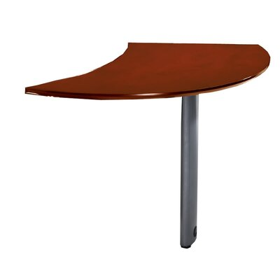 Napoli 29.5 H x 47 W Desk Peninsula Finish: Sierra Cherry Veneer, Orientation: Right