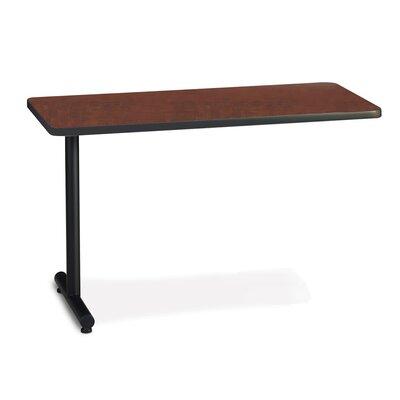 T-Mate 29 H Desk Peninsula Size: 29 H x 72 W, Finish: Ice Gray