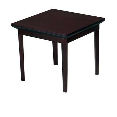Corsica End Table Color: Mahogany Veneer