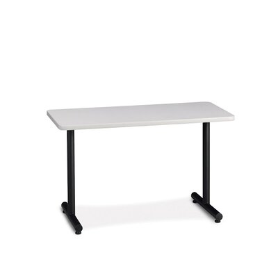 T-Mate Utility Training Table with Cable Management Tabletop Finish: Ice Gray, Size: 29 H x 48 W x 24 D