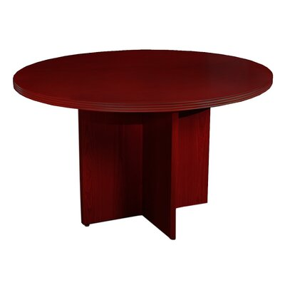 Luminary Series Circular 29W x 42L Conference Table Finish: Cherry