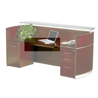Napoli 30 W x 18 D Desk Drawer Finish: Sierra Cherry Veneer