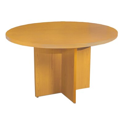 Luminary Series Circular 29W x 42L Conference Table Finish: Maple