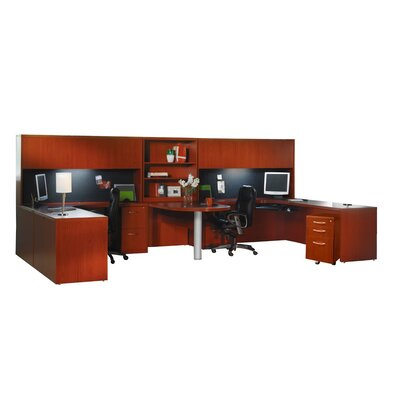 Aberdeen Series Workstation Finish: Cherry Product Picture 7268