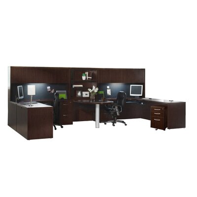 Aberdeen Series Workstation Finish: Mocha