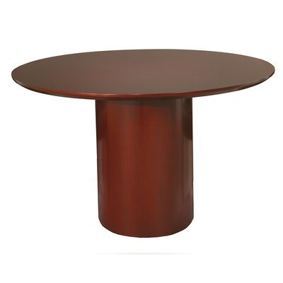 Napoli Circular 29.5H x 48W x 48L Conference Table Finish: Sierra Cherry with Cherry Veneer