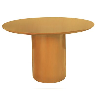 Napoli Series 4 Circular Conference Table Finish: Golden Cherry with Beech Veneer