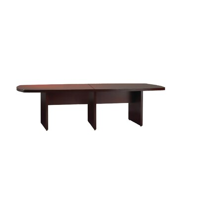 Luminary Series Curved End Conference Table Finish: Cherry, Size: 10 L