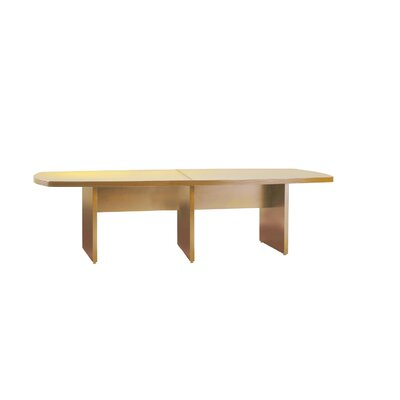 Luminary Series Curved End Conference Table Size: 10 L, Finish: Maple