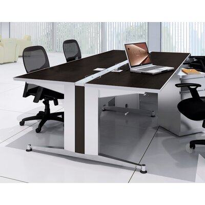 60 W Dual-Sided Training Table Tabletop Finish: Witchcraft / Mocha