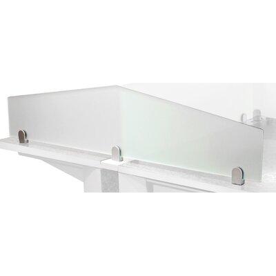 7.5 H x 60 W Desk Privacy Panel