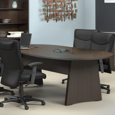 Brighton Series 8' Conference Room Set Finish: Mocha Product Picture 32