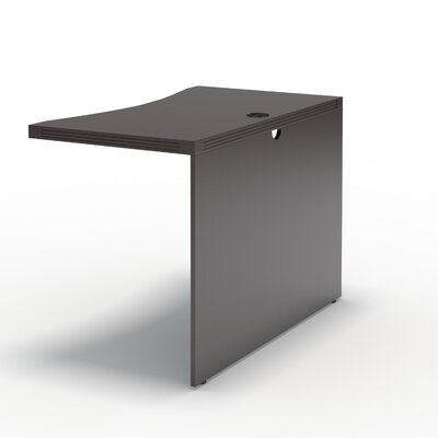 Aberdeen 29.5 H Desk Bridge Finish: Mocha, Size: 29.5 H x 48 W x 24 D