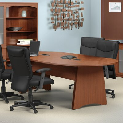 Brighton Series 8' Conference Room Set Finish: Cherry Product Picture 32