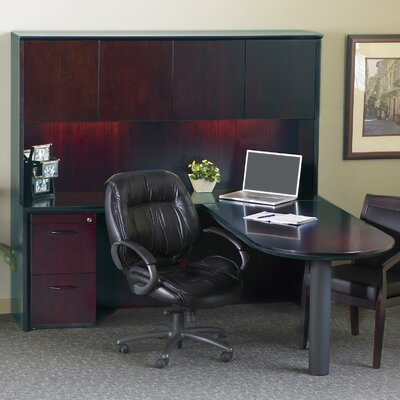 Series L Shape Executive Desk Hutch Corsica Product Photo 53