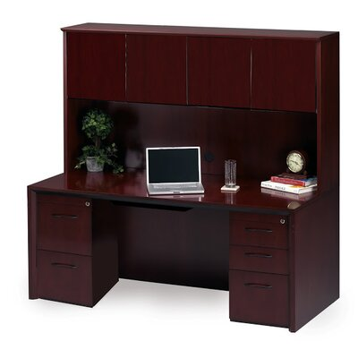 Series Executive Desk Hutch Product Photo 306