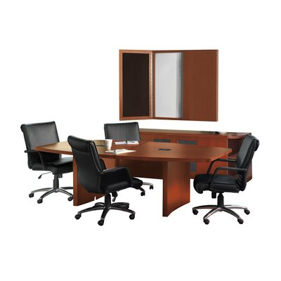 Aberdeen Series Conference Room Set Finish: Mocha Product Picture 33