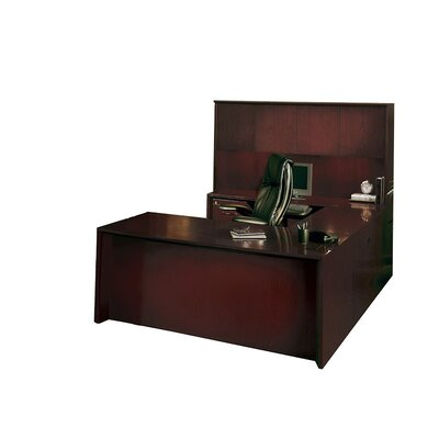 Series U Shape Executive Desk Hutch Corsica Product Image 4385