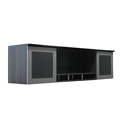 Medina Series 18.5 H x 72 W Desk Hutch Finish: Gray Steel