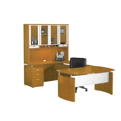 Napoli U Shape Desk Office Suite Product Photo 2448
