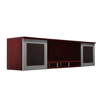 Medina Series 18.5 H x 72 W Desk Hutch Finish: Mahogany