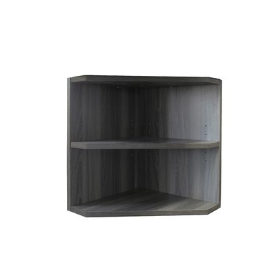 Medina Series 18 H x 15 W Desk Hutch Finish: Gray Steel